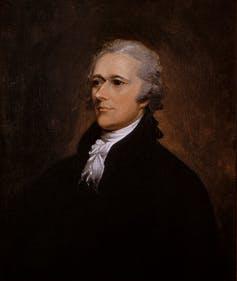 Portrait de Alexander Hamilton